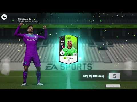 ĐẬP THẺ H.LLORIS LÊN +5 TRONG FIFA ONLINE 4