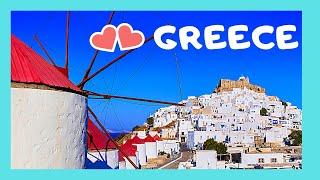 GREECE: Island of ASTYPALAIA, a true PARADISE ON Earth