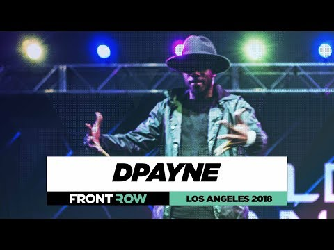 DPayne | FrontRow | World of Dance Los Angeles 2018 | #WODLA18