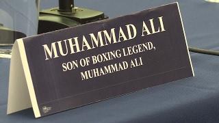 US - Muhammad Ali Jr tells US Congress he was the victim of racial profiling