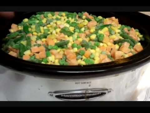 Crockpot Chicken And Vegetables Recipe