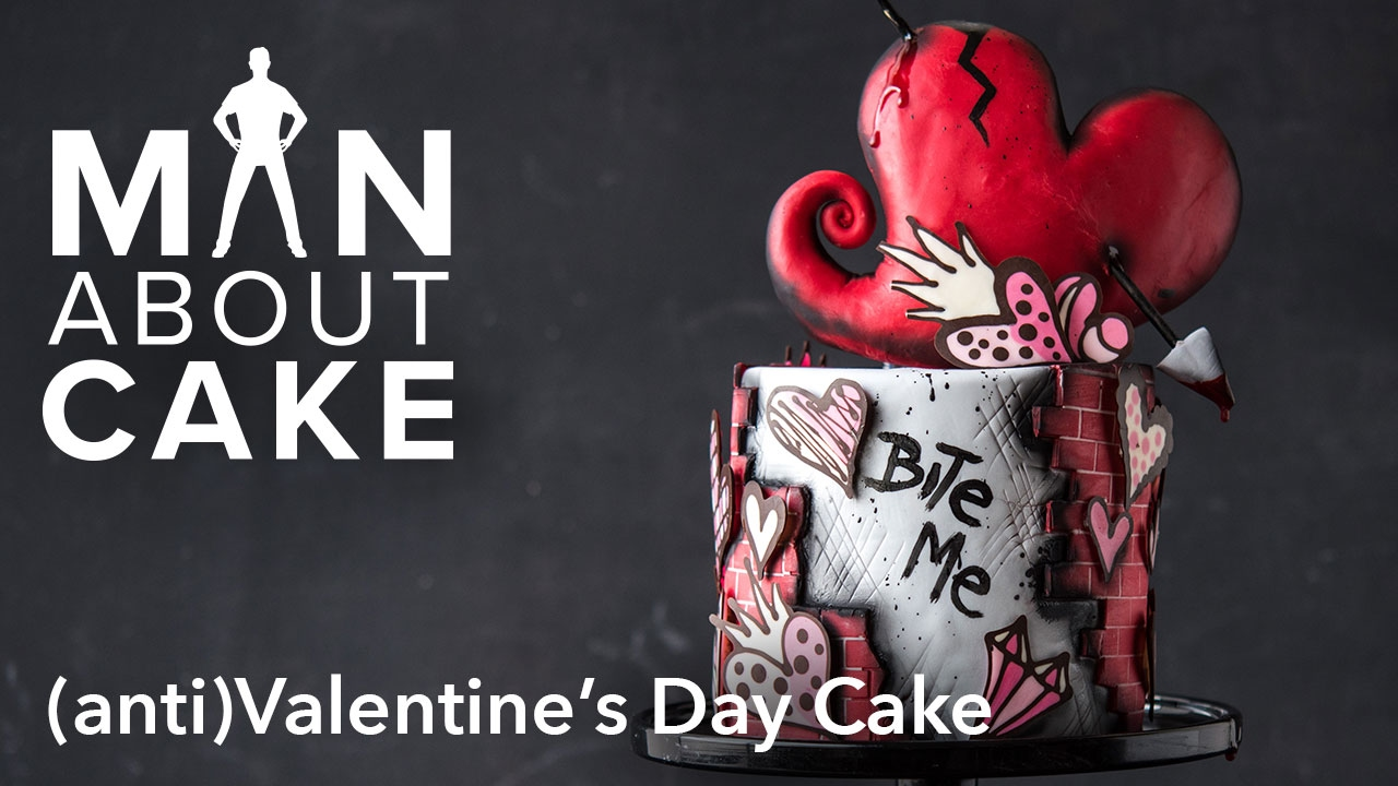 (man About) Anti Valentineu0027s Day Cake | Man About Cake With Joshua John  Russell