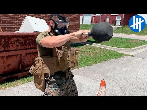 Real Life Marine Corps HardCore Training | Muscle Madness
