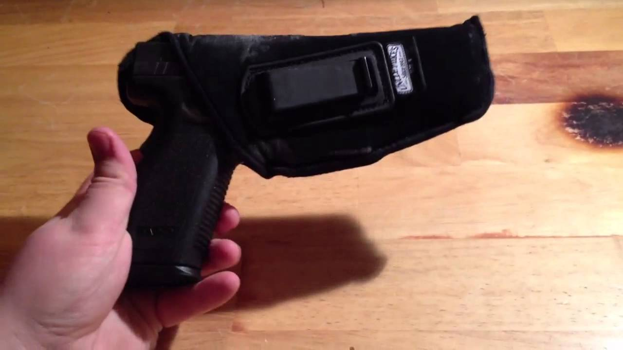 Uncle Mikes IWB holster review, one year