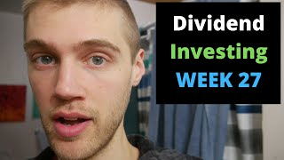 Dividend Investing Case Study: $2776 Stock Portfolio (WEEK 27) With Wealthsimple Trade