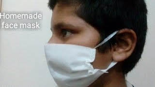How to make mask at home /Corona virus mask /Very easy to make mask.