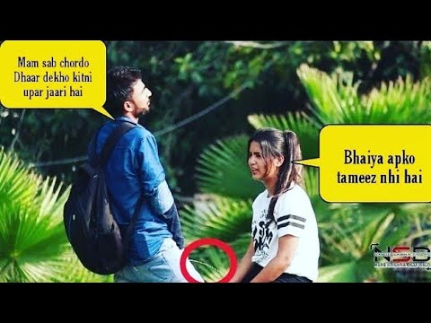 Pee Prank On Cute Girls (Try Not To Laugh) || Prashant Shukla || NSB