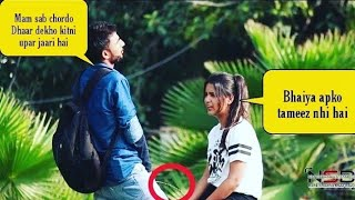 Pee Prank on Cute Girls (Try Not To Laugh) || Prashant Shukla || NSB