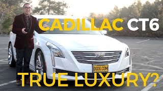 2017 Cadillac CT6 In Depth Review | DGDG.COM
