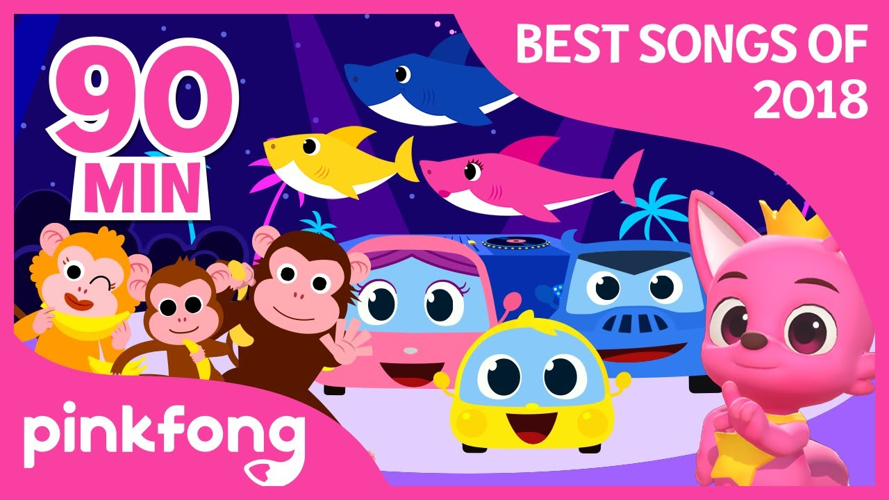 Ver Baby Shark and more | Best Songs of 2018 | +Compilation | Pinkfong Songs for Children en Español