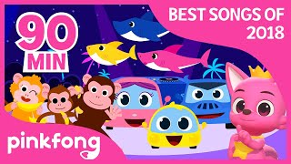 Baby Shark and more | Best Songs of 2018 | +Compilation | Pinkfong Songs for Children thumbnail