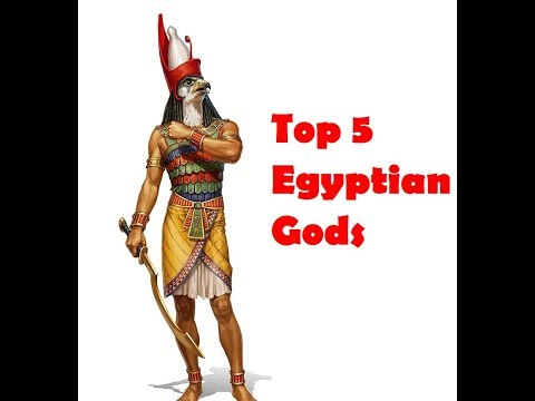 Top 5 Egyptian Gods