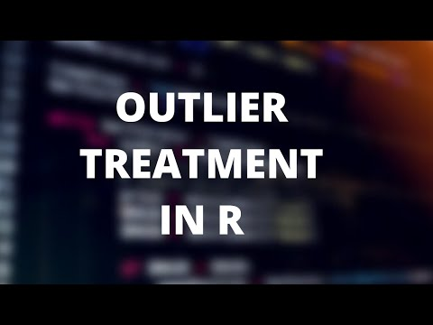 Outlier Detection & Treatment in R