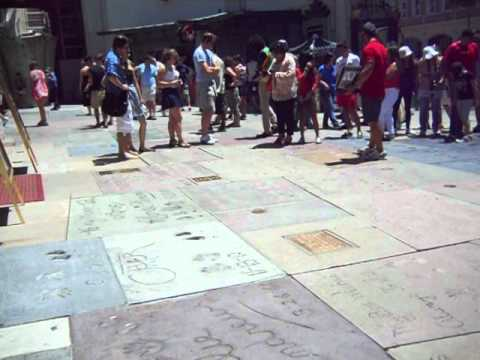 Mann's Chinese Theatre - Hollywood Walk of Fame
