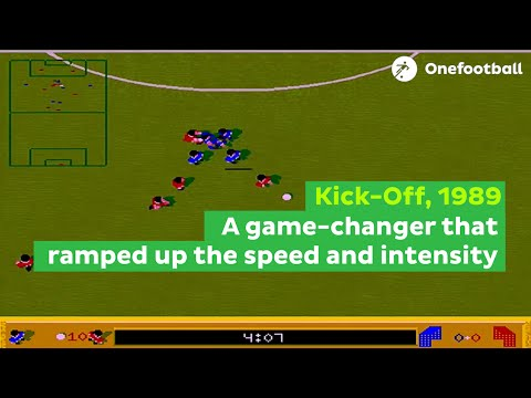 The history of the greatest retro football computer games