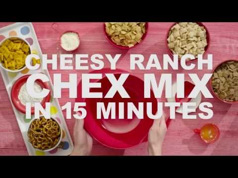 How to | Cheesy Ranch Chex Mix in 15 minutes