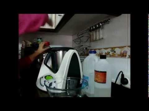 Receta de jabon liquido thermomix