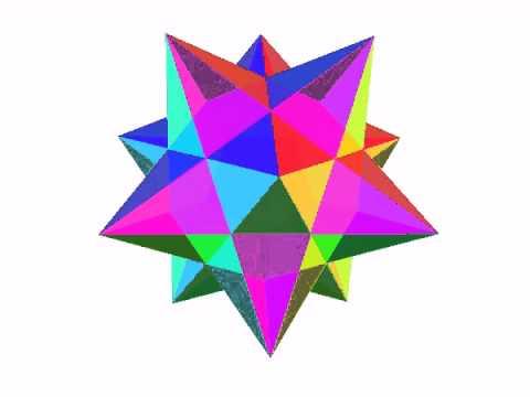 正十二面体の星型化(1) - YouT...