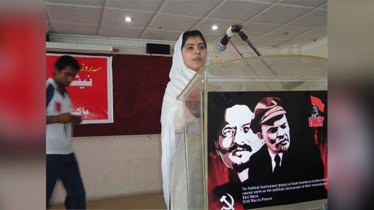 Ativista e desarmamentista Malala Yousafzai, Prêmio Nobel da Paz, chega no Rio com 16 seguranças fortemente armados. A comunista também ignora as milhões de mortes causadas pela sua ideologia
