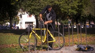 Possible bike thief caught in the act   What Would You Do?   WWYD
