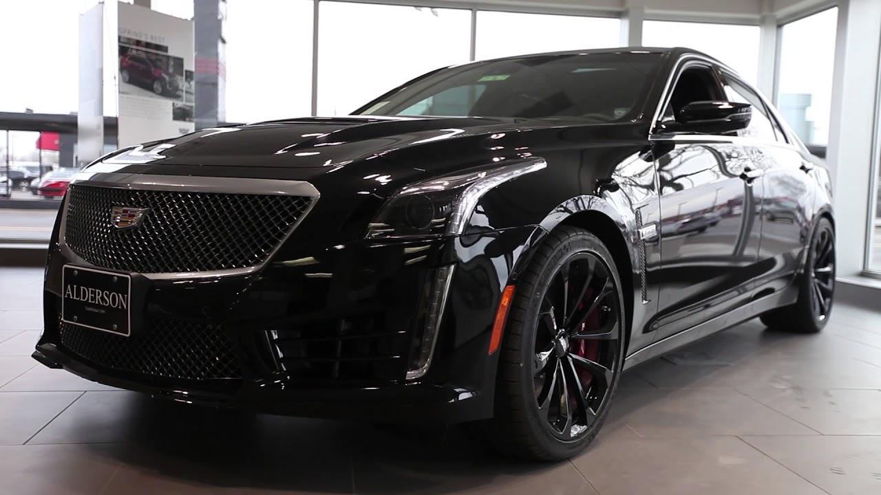 2017 Cadillac Cts V At Alderson Cadillac Youtube