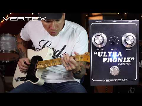 Do you want the D? (style overdrive I mean) - Vertex Ultraphonix pedal - demo by RJ Ronquillo
