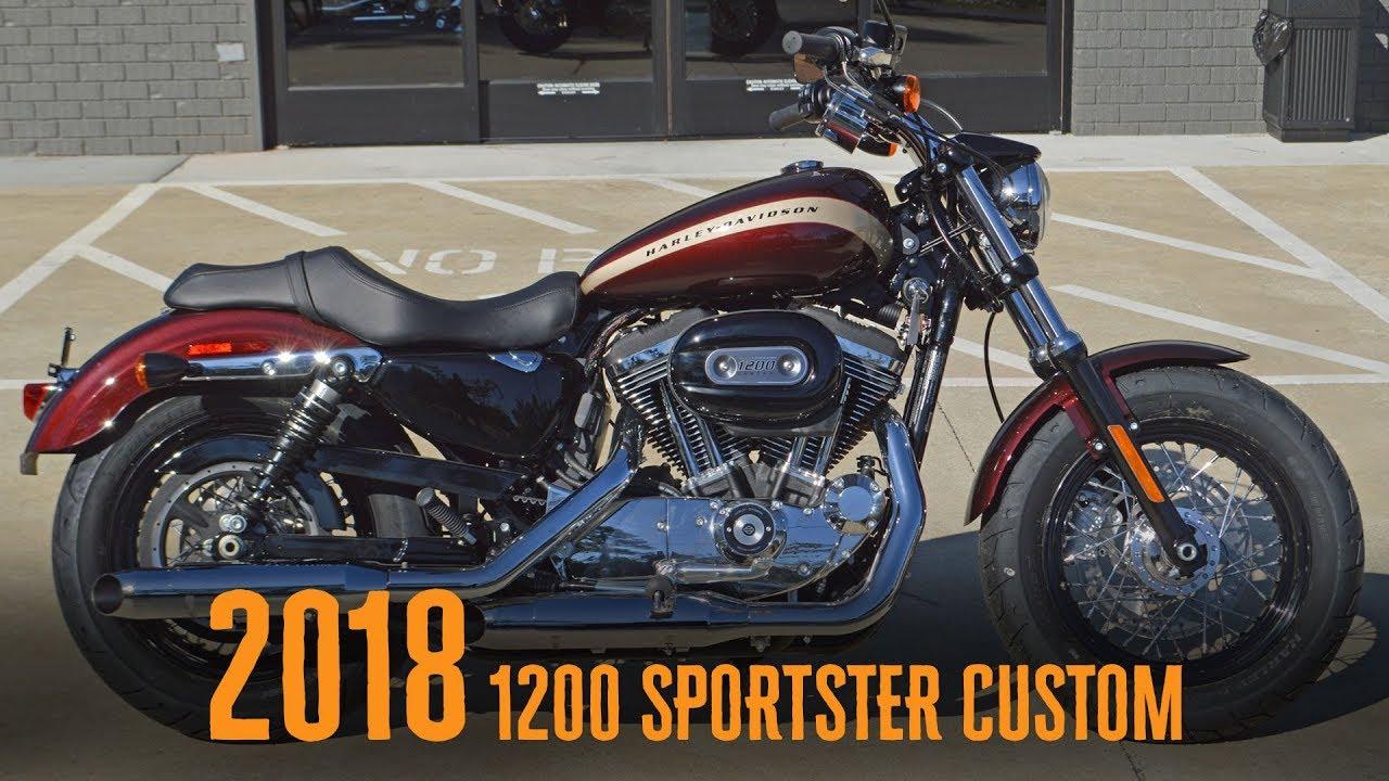 2018 Harley Davidson Xl1200c 1200 Sporster Custom Twisted Cherry