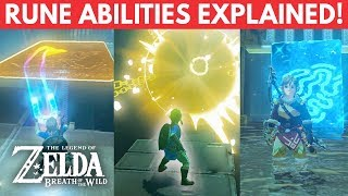 The Science of Zelda: Breath of The Wild Rune Abilities