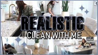 REALISTIC CLEAN WITH ME | CHATTY CLEANING | CLEANING ROUTINE
