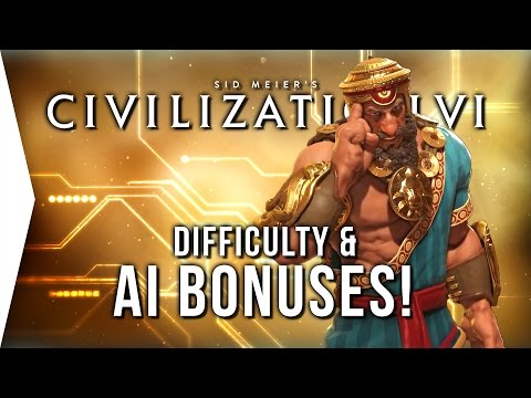 "Civilization VI ► The AI & Difficulty! - Still ""Garbage""?"