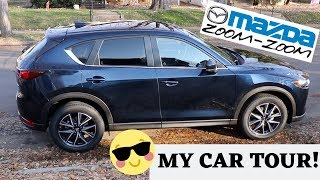 CAR TOUR ♡ Decor + Review ♡ 2018 Mazda CX-5