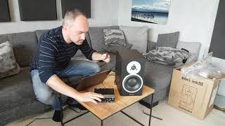 DYNAUDIO BM5 mkIII Active Studio Monitors - Unboxing + Setup