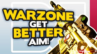 Warzone how to get BETTER AIM with CONTROLLER (Xbox One, PS4 & PC) | Warzone Tips