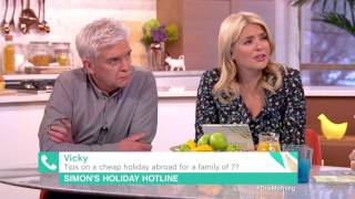 Tips on a Cheap Holiday Abroad for a Family of 7?   This Morning