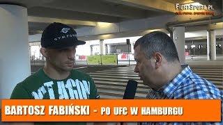 Bartosz Fabiński po UFC Fight Night 134 w Hamburgu: Nie czułem zagrożenia