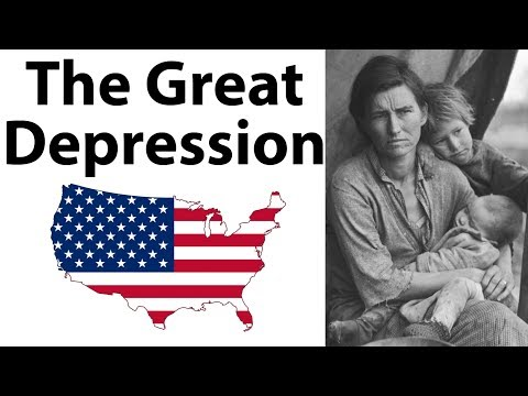 What was The Great Depression महामंदी क्या थी?  What were its causes & How It Ended - World History