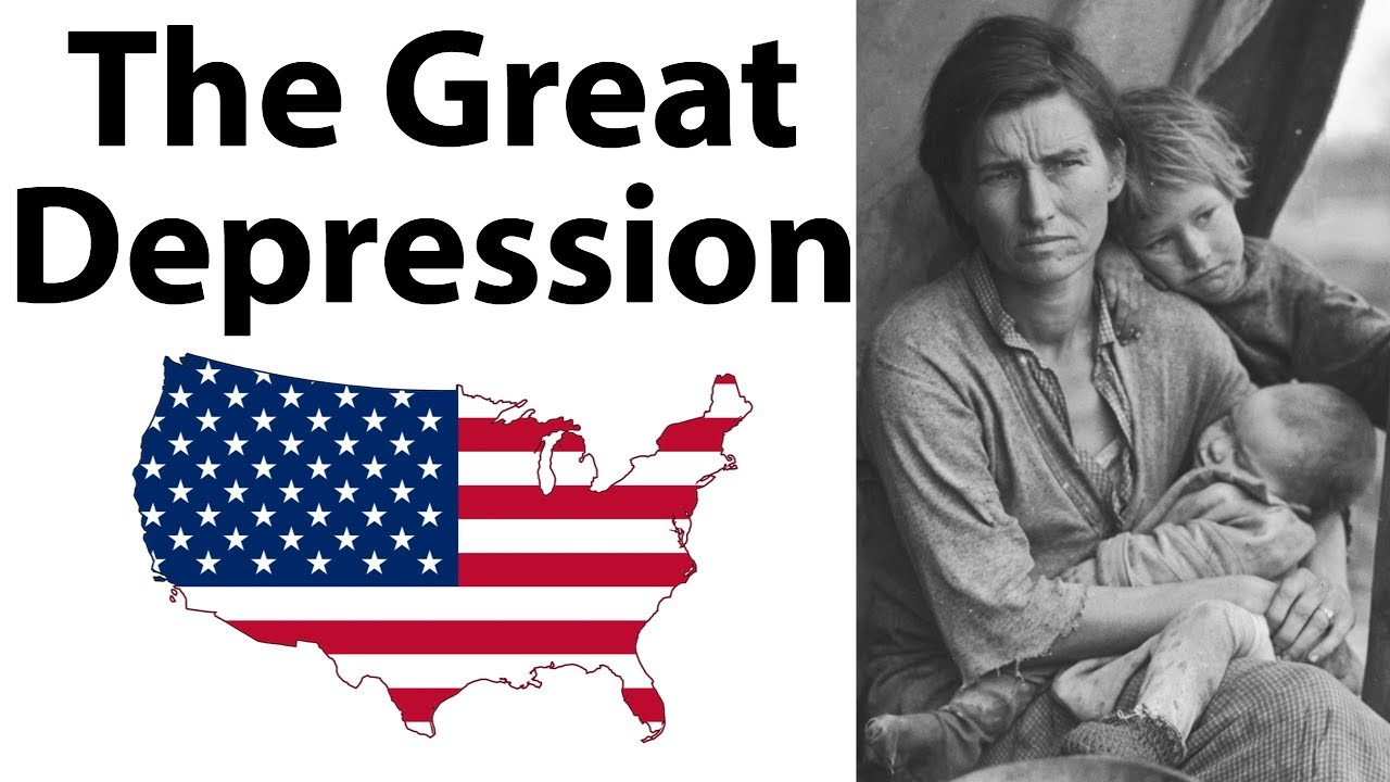 What was The Great Depression महामंदी क्या थी?  What were its causes & How It Ended - World Hist
