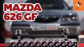 MAZDA 626 V (GF) Koiranluu asennus : ilmainen video