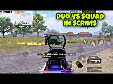 DUO VS SQUAD IN PPGL SCRIMMAGE WITH DEMIGOD | INTENSE GAMEPLAY