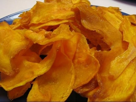 How to make dried sweet potato slices