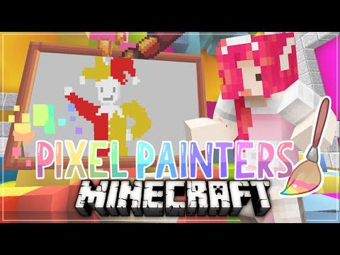 Minecraft PIXEL PAINTERS ♡ April Fools!