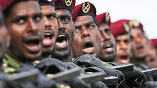 Mahinda Rajapaksa and our gratitude for all you have contributed to the war