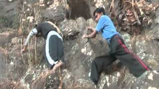 """The Only way out is """"Anubhuti Rocks"""" 16th Feb 2011, Pavagarh Hills, Gujarat"""