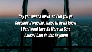 John Wolf - Anymore - Lyrics (FaZeSway intro song)
