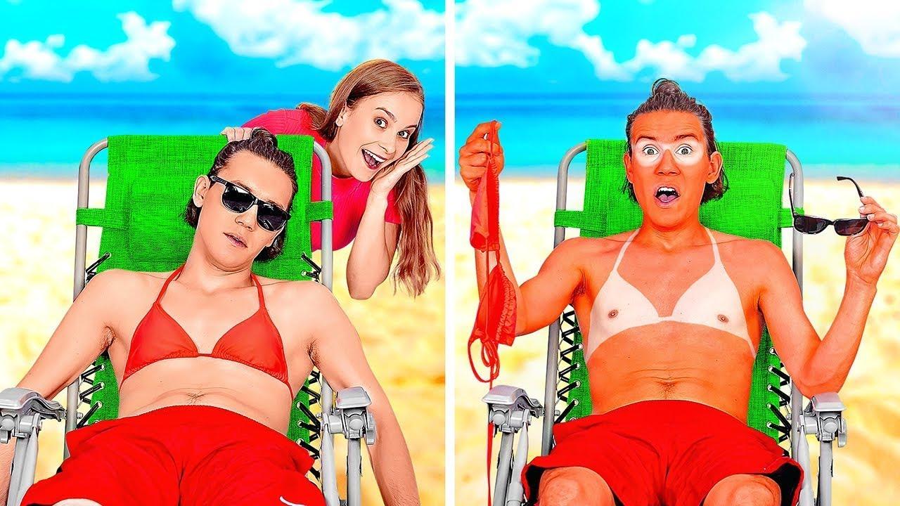 不要笑出聲喔!最讚的夏日惡作劇 || 123 GO! BOYS惡搞親友DIY,超搞笑!