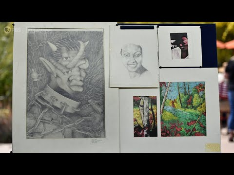 Kanye West's teenage art portfolio estimated at £18.4k on Antiques Road Show and 'expected to appreciate'