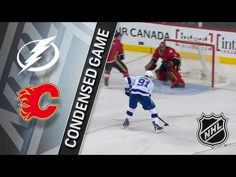 Tampa Bay Lightning vs Calgary Flames – Feb. 01, 2018 | Game Highlights | NHL 2017/18. Обзор матча