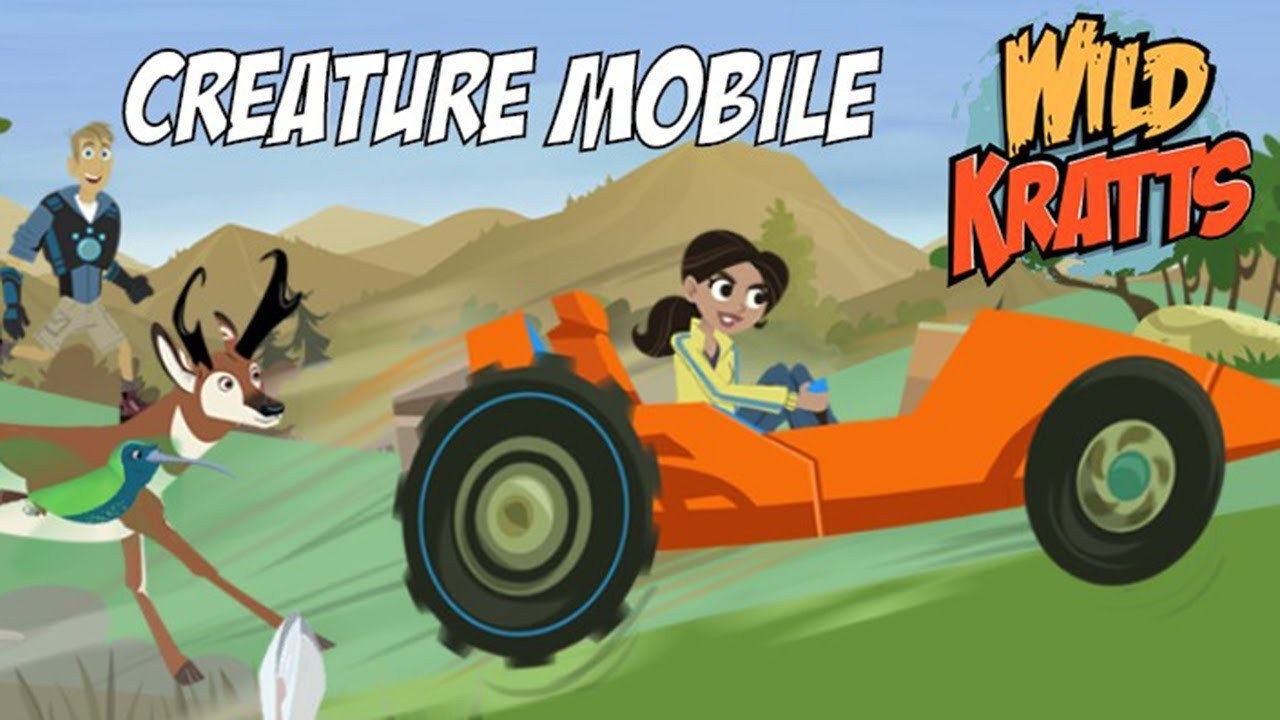 Wild Kratts Creature Mobile PBS Kids Games for Kids Video - YouTube