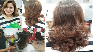 Baixar Different style multi step hair cut (step by step)🤗👍