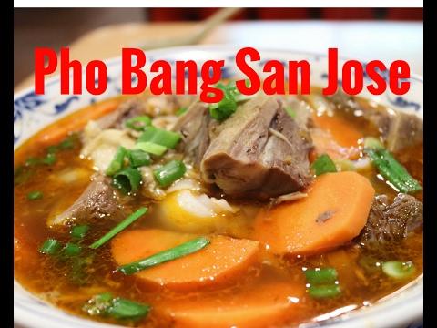 Pho Bang in San Jose, Ca. Bo Kho and Beef Pho *DELICIOUS* 2017